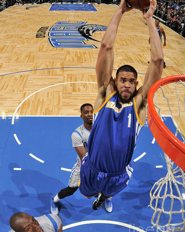 Nba Pro Basketball Poster featuring the photograph Javale Mcgee by Fernando Medina