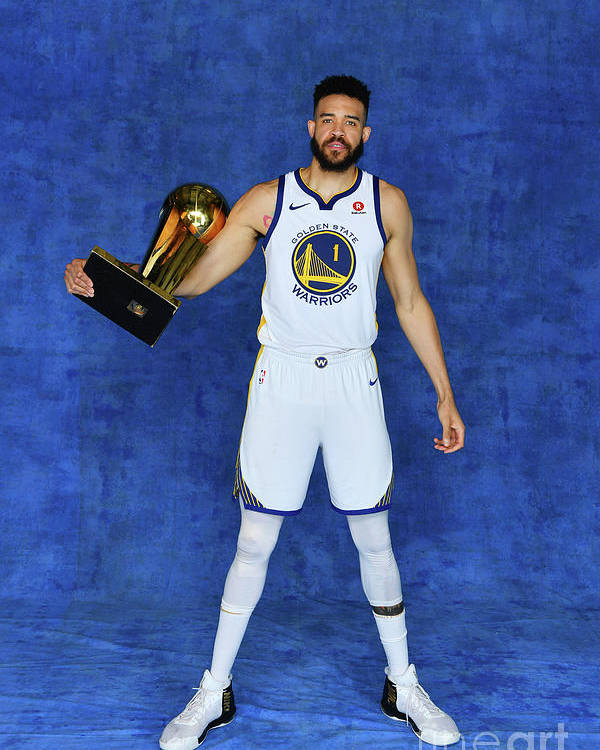 Playoffs Poster featuring the photograph Javale Mcgee by Jesse D. Garrabrant