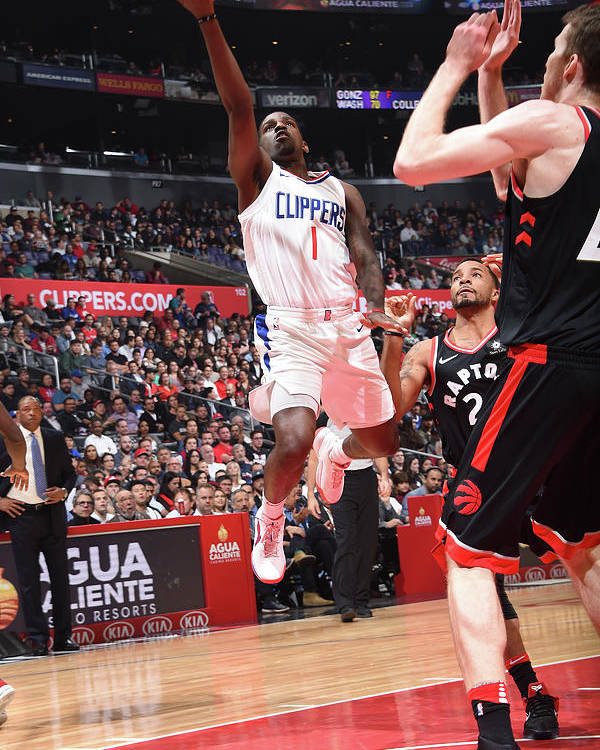 Nba Pro Basketball Poster featuring the photograph Jawun Evans by Andrew D. Bernstein