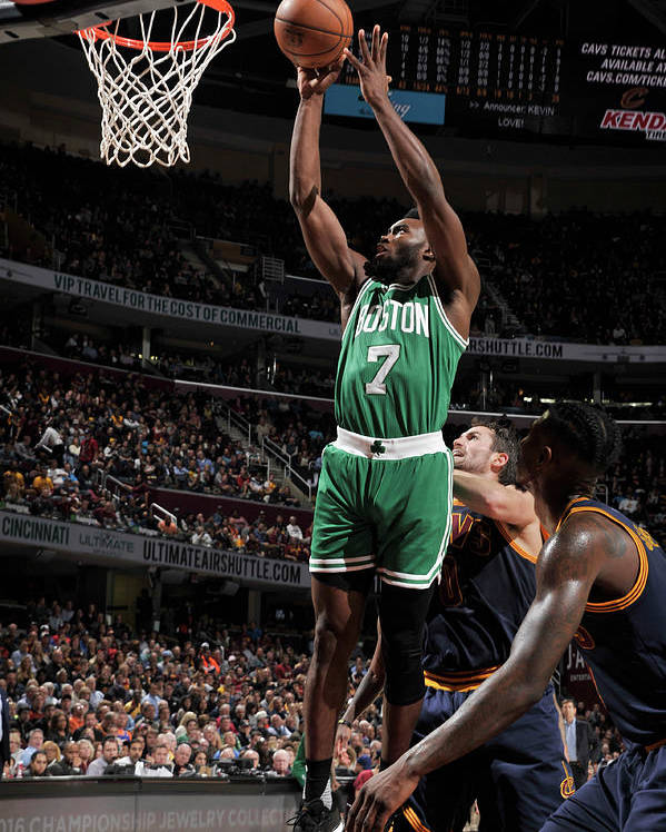 Nba Pro Basketball Poster featuring the photograph Jaylen Brown by David Liam Kyle