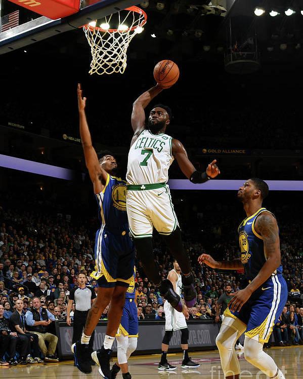 Nba Pro Basketball Poster featuring the photograph Jaylen Brown by Noah Graham