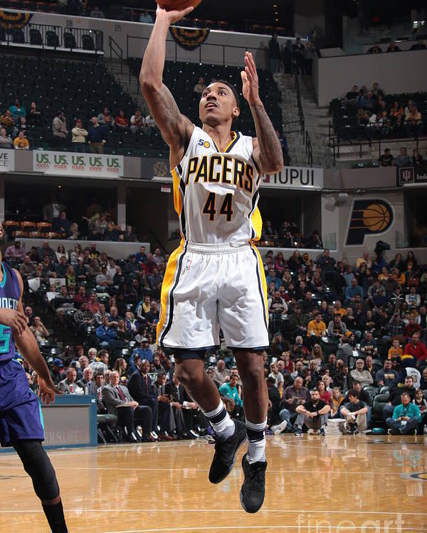Nba Pro Basketball Poster featuring the photograph Jeff Teague by Ron Hoskins