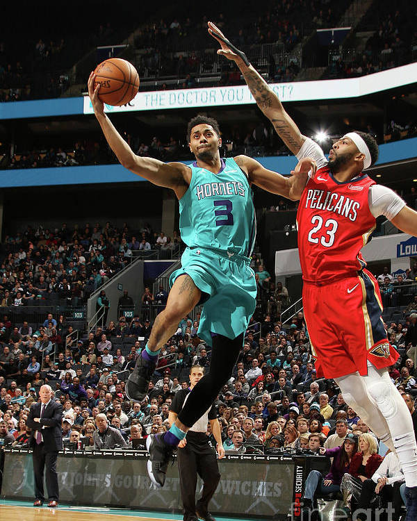 Nba Pro Basketball Poster featuring the photograph Jeremy Lamb by Brock Williams-smith