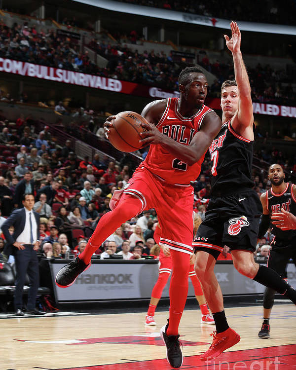 Nba Pro Basketball Poster featuring the photograph Jerian Grant by Gary Dineen