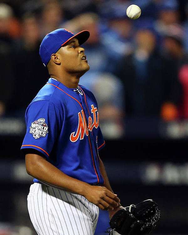 Three Quarter Length Poster featuring the photograph Jeurys Familia by Elsa
