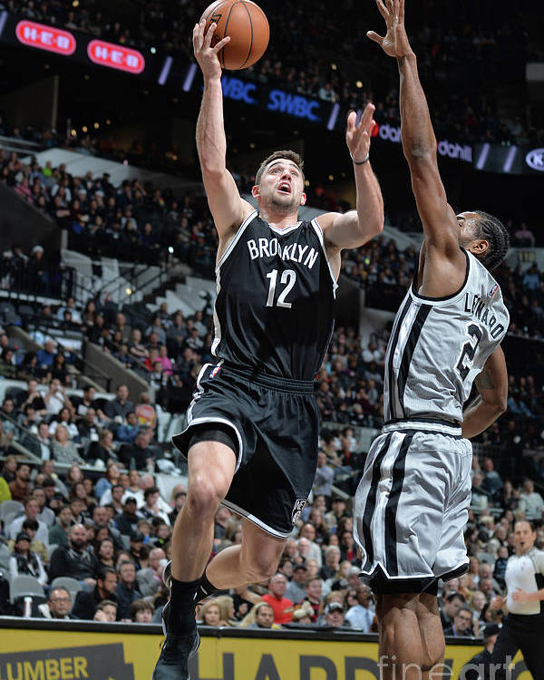 Nba Pro Basketball Poster featuring the photograph Joe Harris by Mark Sobhani