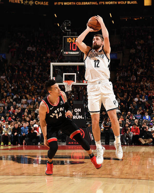 Nba Pro Basketball Poster featuring the photograph Joe Harris by Ron Turenne