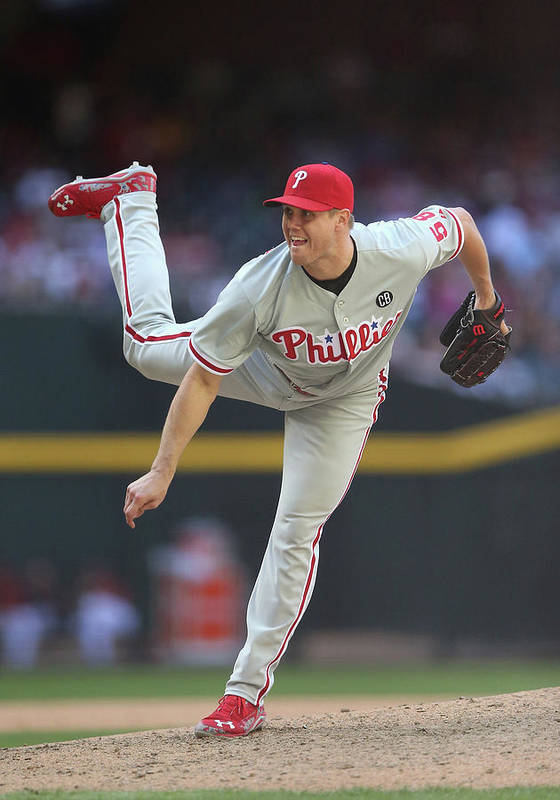Relief Pitcher Poster featuring the photograph Jonathan Papelbon by Christian Petersen