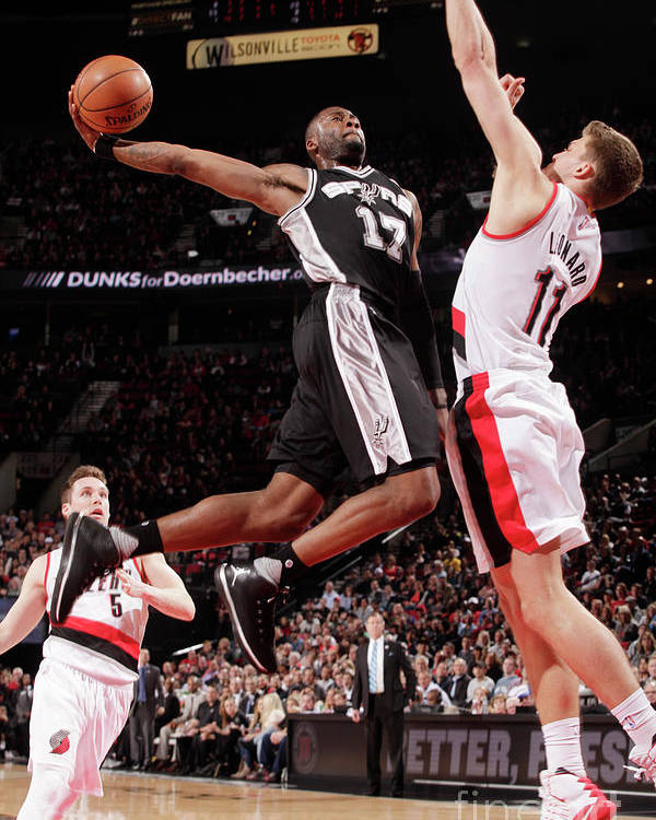 Nba Pro Basketball Poster featuring the photograph Jonathon Simmons by Cameron Browne