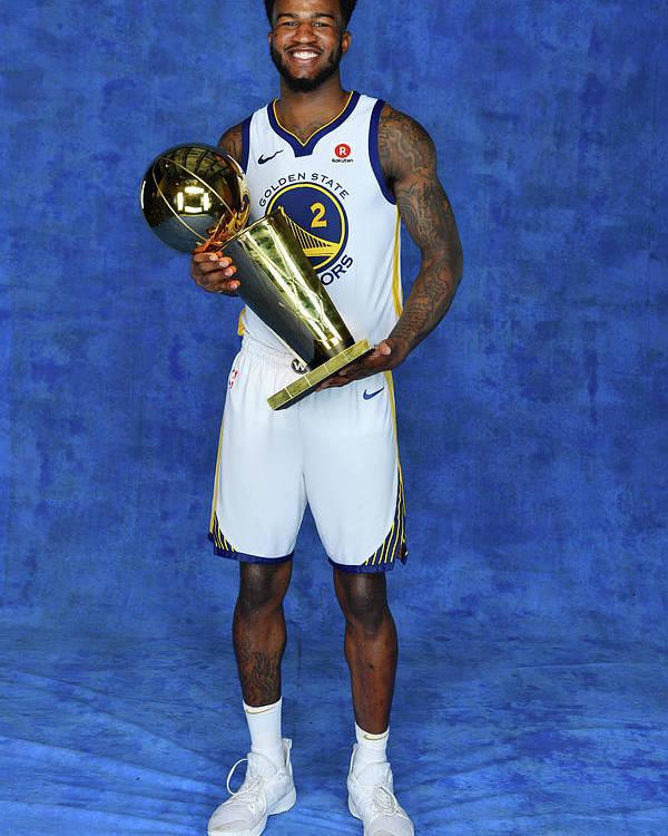 Playoffs Poster featuring the photograph Jordan Bell by Jesse D. Garrabrant