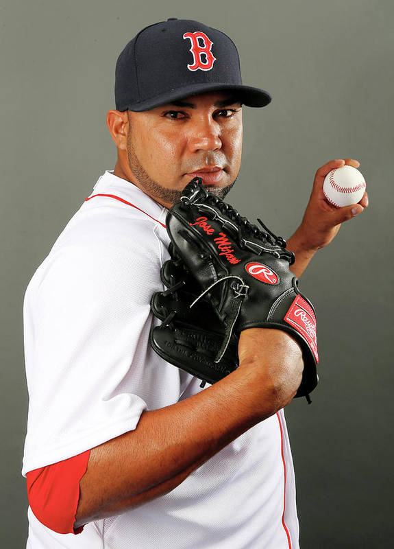 Media Day Poster featuring the photograph Jose Mijares by Elsa