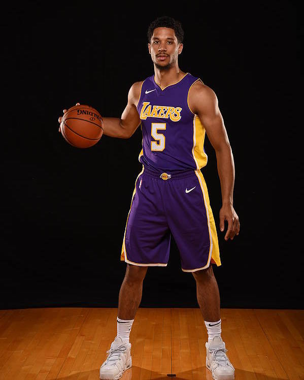 Nba Pro Basketball Poster featuring the photograph Josh Hart by Brian Babineau