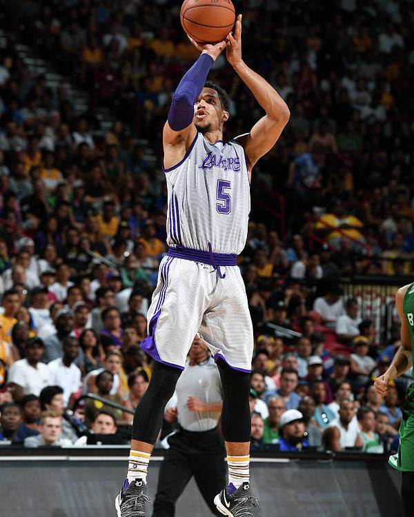 Nba Pro Basketball Poster featuring the photograph Josh Hart by Garrett Ellwood