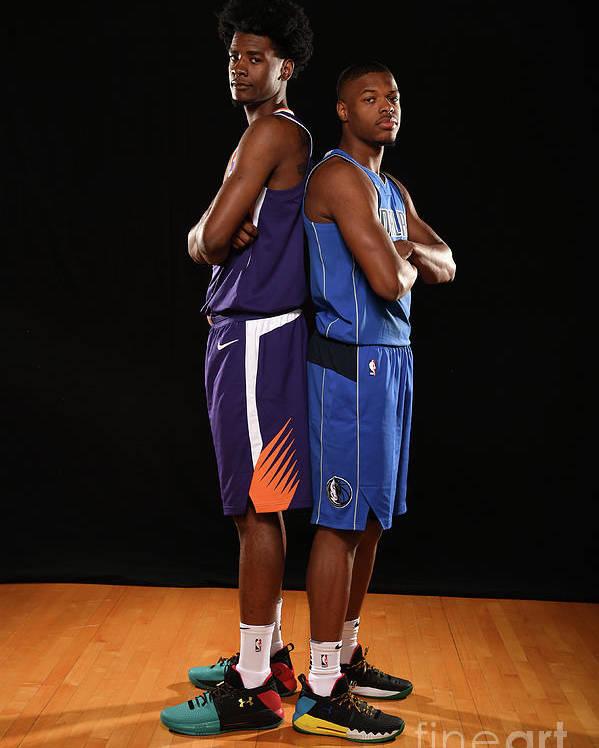 Nba Pro Basketball Poster featuring the photograph Josh Jackson by Brian Babineau