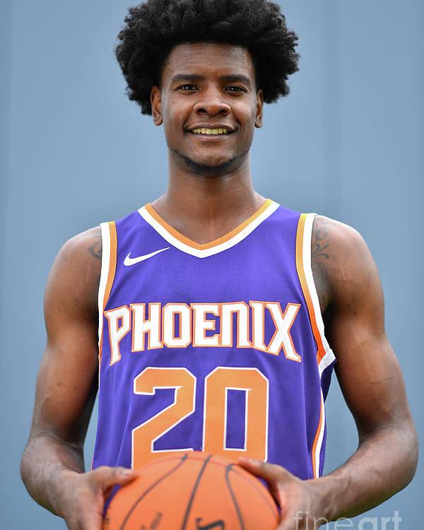 Nba Pro Basketball Poster featuring the photograph Josh Jackson by Jesse D. Garrabrant