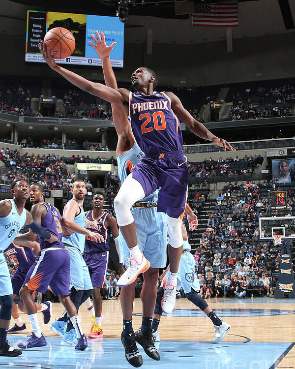 Nba Pro Basketball Poster featuring the photograph Josh Jackson by Ned Dishman