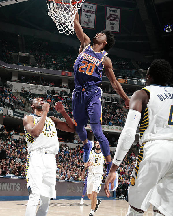 Nba Pro Basketball Poster featuring the photograph Josh Jackson by Ron Hoskins