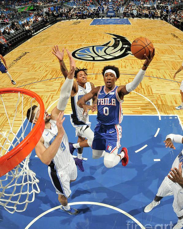 Nba Pro Basketball Poster featuring the photograph Josh Richardson by Fernando Medina