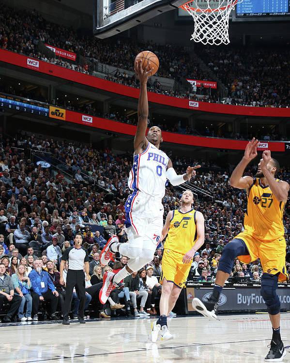 Nba Pro Basketball Poster featuring the photograph Josh Richardson by Melissa Majchrzak