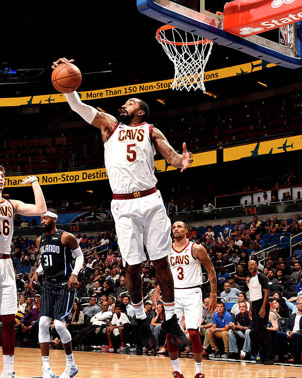 Nba Pro Basketball Poster featuring the photograph J.r. Smith by Gary Bassing