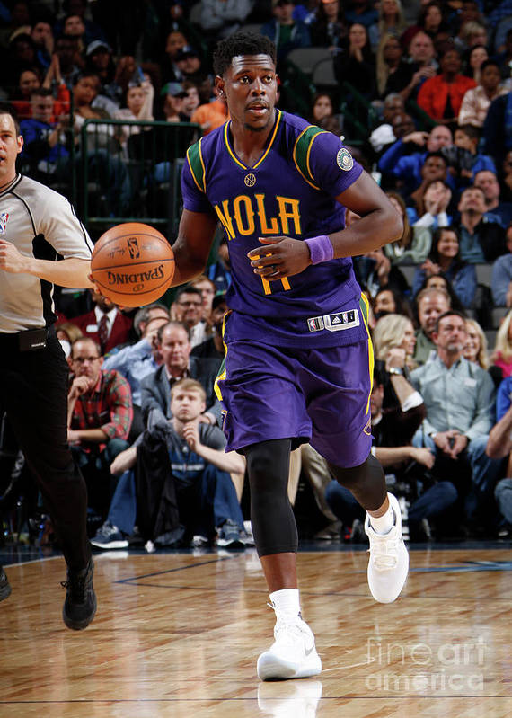 Nba Pro Basketball Poster featuring the photograph Jrue Holiday by Glenn James