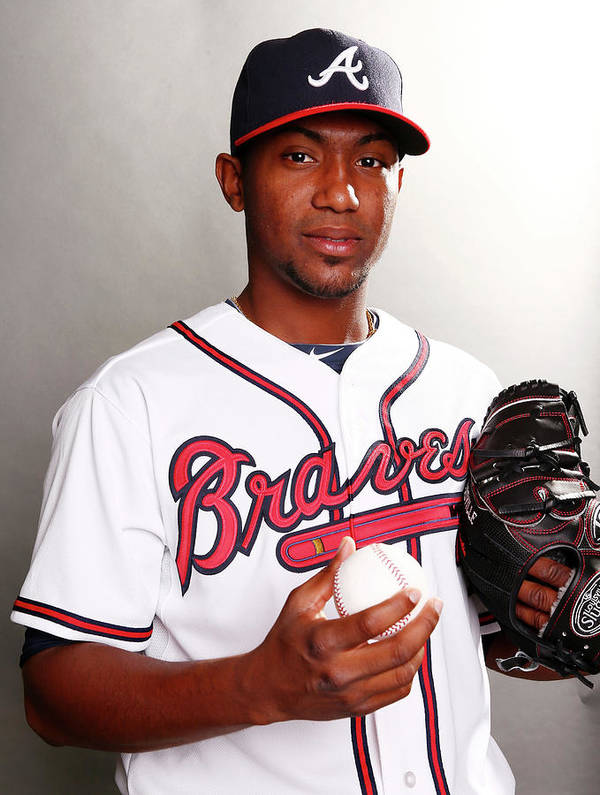 Media Day Poster featuring the photograph Julio Teheran by Elsa