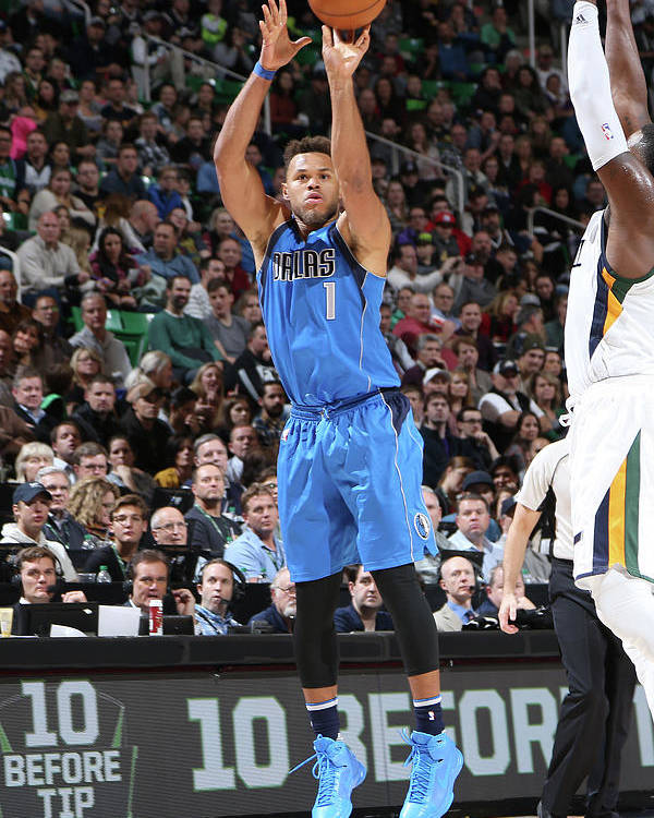 Nba Pro Basketball Poster featuring the photograph Justin Anderson by Melissa Majchrzak