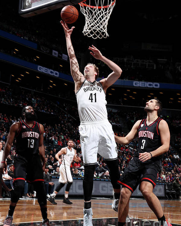 Nba Pro Basketball Poster featuring the photograph Justin Hamilton by Nathaniel S. Butler