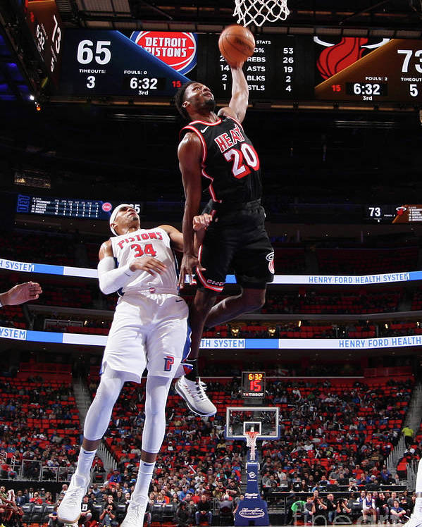 Justise Winslow Poster featuring the photograph Justise Winslow by Brian Sevald