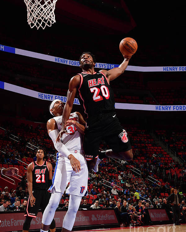 Justise Winslow Poster featuring the photograph Justise Winslow by Chris Schwegler