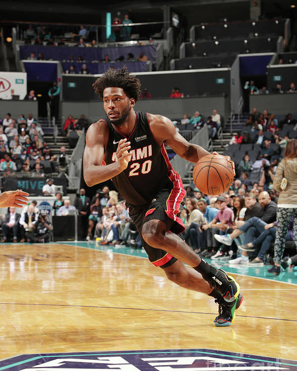 Justise Winslow Poster featuring the photograph Justise Winslow by Kent Smith