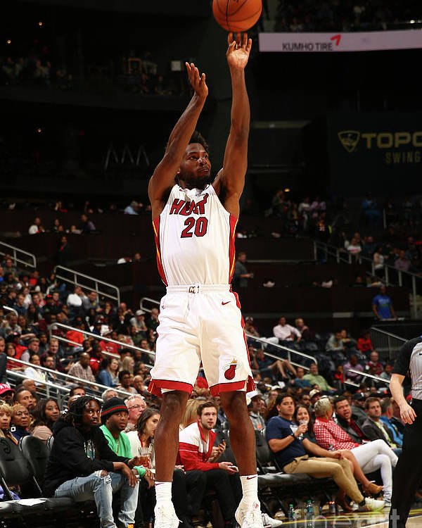 Atlanta Poster featuring the photograph Justise Winslow by Kevin Liles