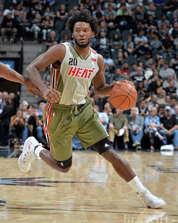 Justise Winslow Poster featuring the photograph Justise Winslow by Mark Sobhani