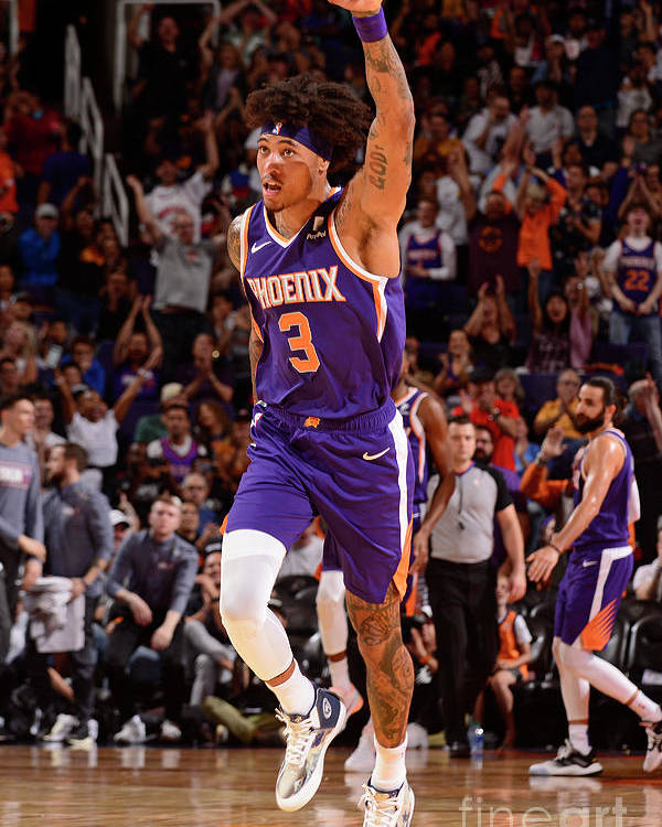 Nba Pro Basketball Poster featuring the photograph Kelly Oubre by Barry Gossage