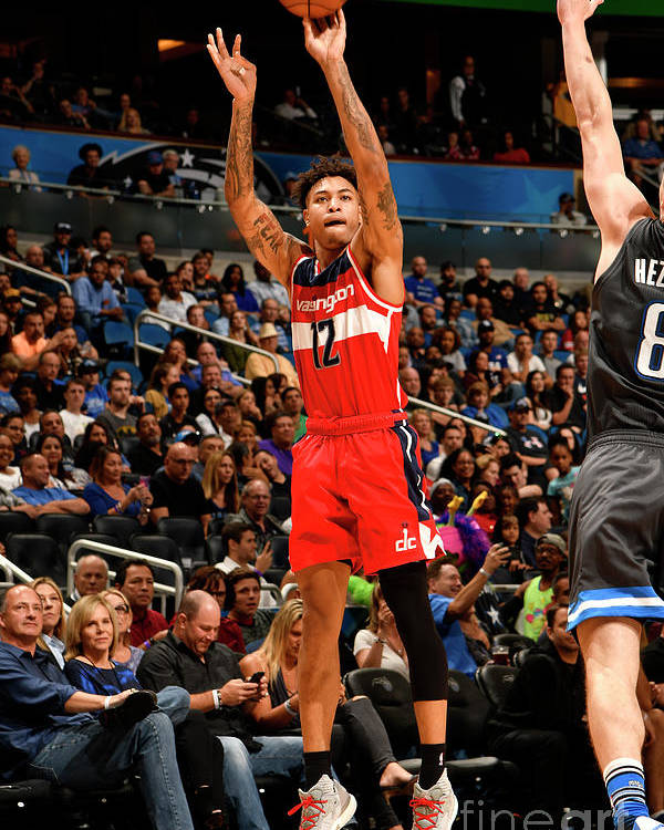 Nba Pro Basketball Poster featuring the photograph Kelly Oubre by Fernando Medina