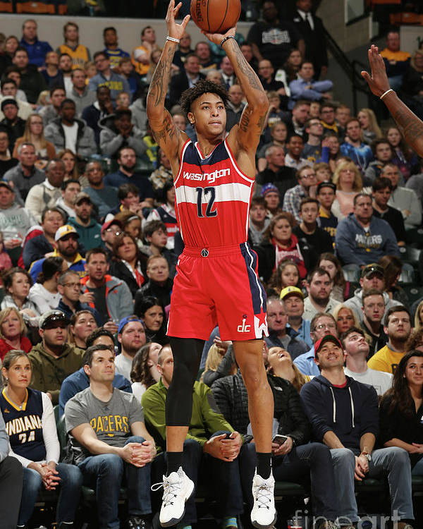 Nba Pro Basketball Poster featuring the photograph Kelly Oubre by Gary Dineen