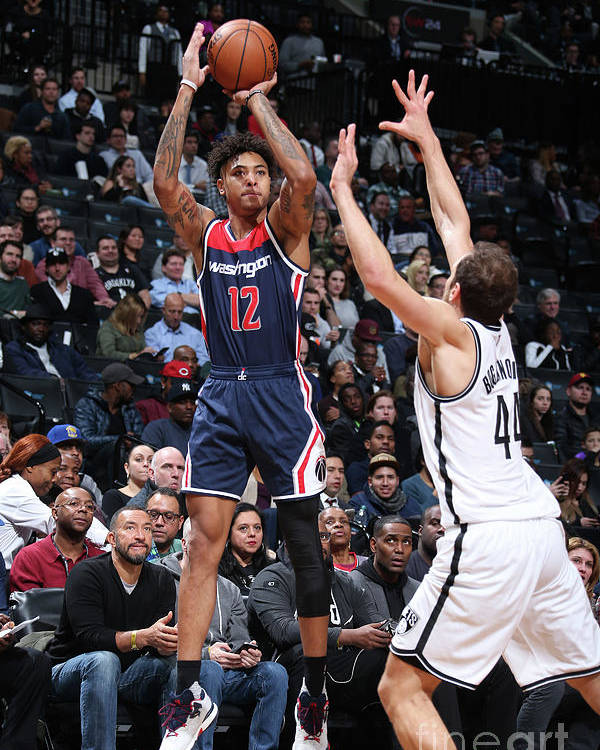 Nba Pro Basketball Poster featuring the photograph Kelly Oubre by Nathaniel S. Butler