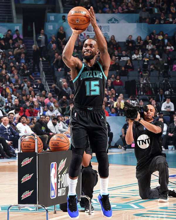 Kemba Walker Poster featuring the photograph Kemba Walker by Andrew D. Bernstein