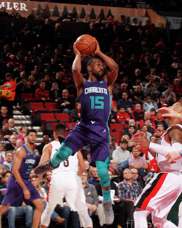 Kemba Walker Poster featuring the photograph Kemba Walker by Cameron Browne
