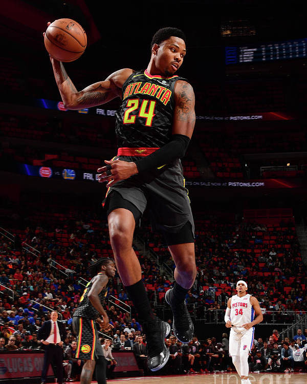 Nba Pro Basketball Poster featuring the photograph Kent Bazemore by Chris Schwegler