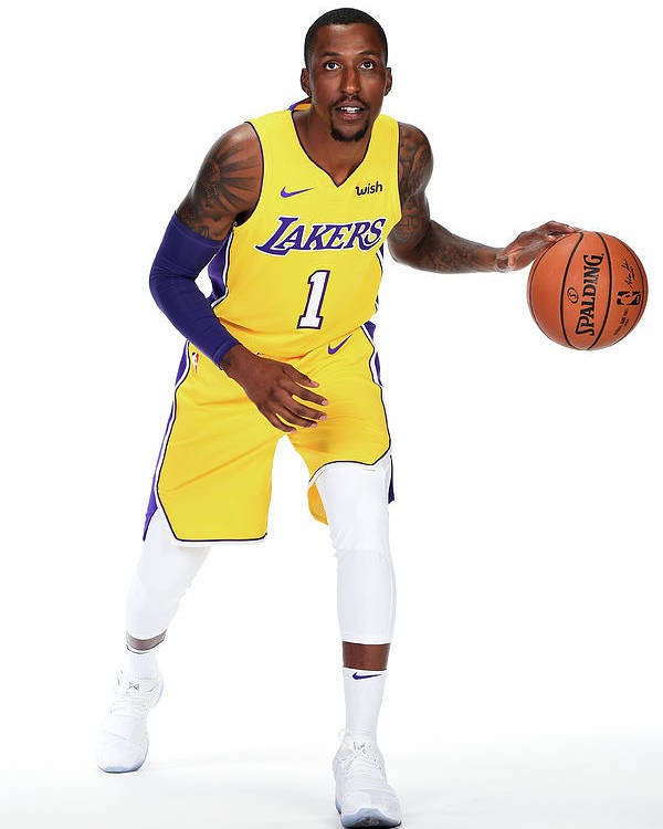 Media Day Poster featuring the photograph Kentavious Caldwell-pope by Andrew D. Bernstein