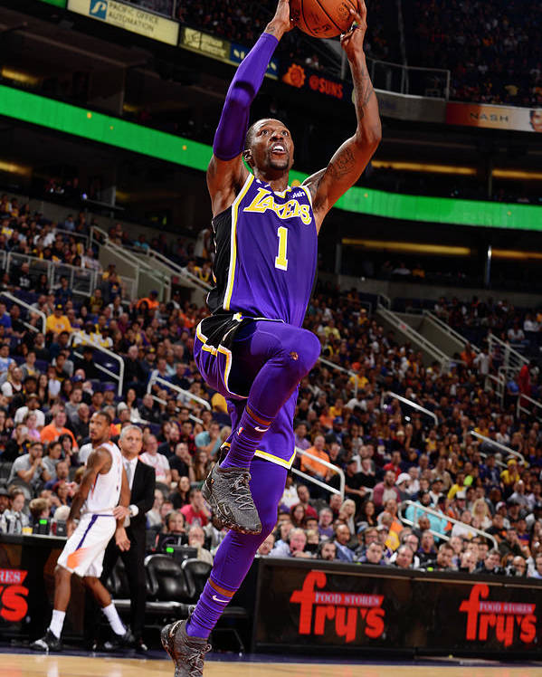 Nba Pro Basketball Poster featuring the photograph Kentavious Caldwell-pope by Barry Gossage