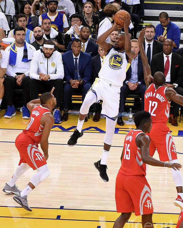 Nba Pro Basketball Poster featuring the photograph Kevin Durant by Adam Pantozzi