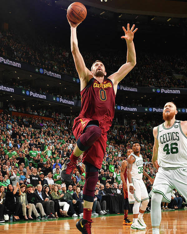Playoffs Poster featuring the photograph Kevin Love by Jesse D. Garrabrant