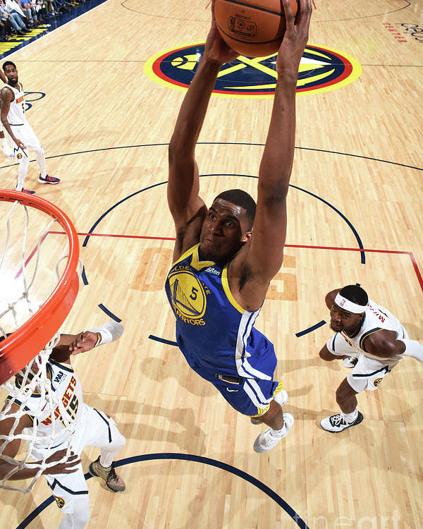 Nba Pro Basketball Poster featuring the photograph Kevon Looney by Garrett Ellwood