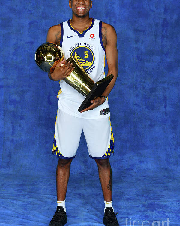 Playoffs Poster featuring the photograph Kevon Looney by Jesse D. Garrabrant