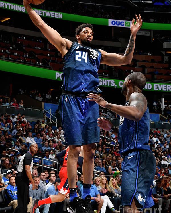 Nba Pro Basketball Poster featuring the photograph Khem Birch by Fernando Medina