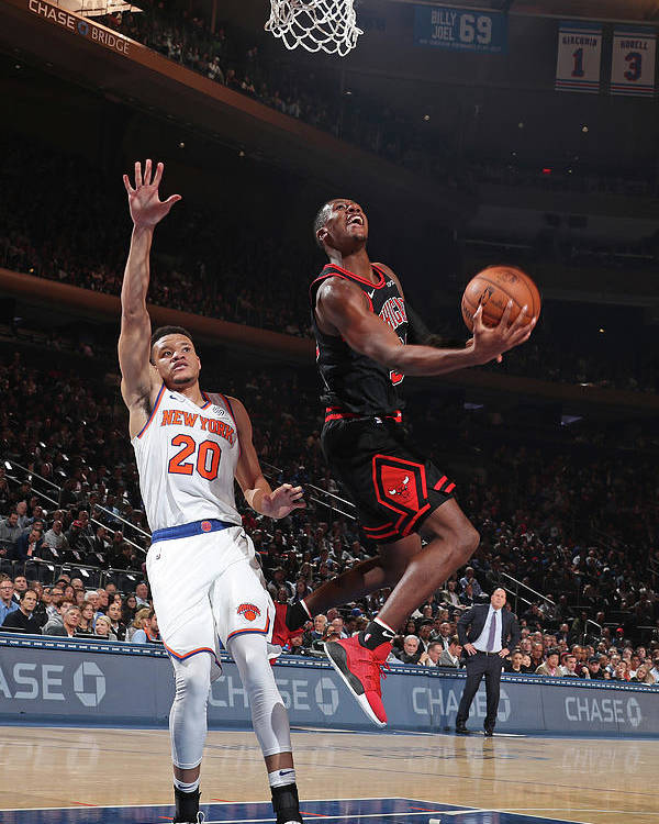 Chicago Bulls Poster featuring the photograph Kris Dunn by Nathaniel S. Butler