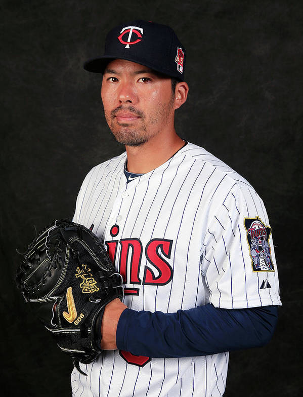 Media Day Poster featuring the photograph Kurt Suzuki by Rob Carr
