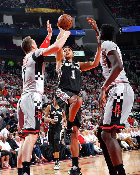 Playoffs Poster featuring the photograph Kyle Anderson by Jesse D. Garrabrant